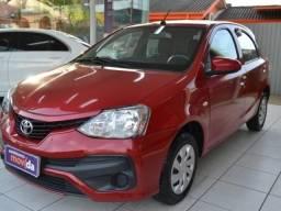 Toyota Etios 1.3 x lindo / ipva 2019 pago - 2018