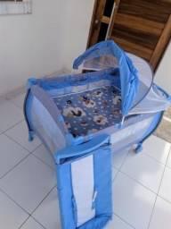 Cercadinho burigotto + banheira burigotto + kit berço + brinde