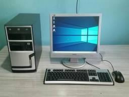 Computador Pentium Dual Core/ 2gb ddr2/ 160hd/ Monitor 17