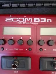 Pedaleira contrabaixo Zoom B3n