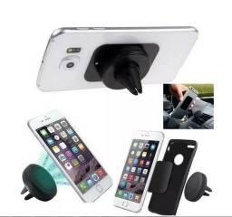 Suporte Veicular Magnético Imã Celular Smartphone Gps Tablet Saida Ar
