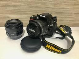 Câmera profissional Nikon D5200