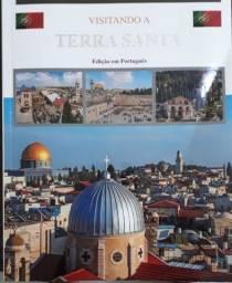 """""""Exclusivo"""": Livro Visitando A Terra Santa (israel) Novo- Em Português +dvd"""