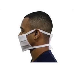Máscara Descartável Dupla Amarrar Respiratória 20 unidades