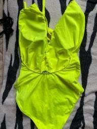 Body Verde Neon tamanho Único