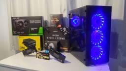 Pc gamer, Gtx 1650 Super Asus Tuf Gam, Amd Ryzen 3100, B450 steel legend