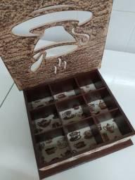 Caixa de Artesanato Café