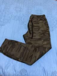 Título do anúncio: Calça jogger camuflada masculina P