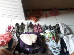 Vendo lote de roupas