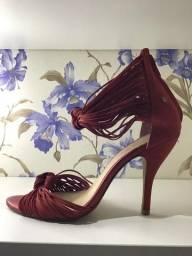 Barato sandália vermelha linda 35