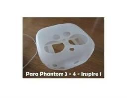 Capa Proteção Silicone Dji Phantom 3 4 Adv Pro Inspire