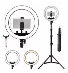 Ring light luz de Self para filmagens e fotos