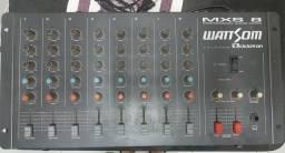 Mesa de som 8 canais