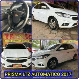 Prisma LTZ automático 2017 Trevao veículos (só Jesus salva) - 2017