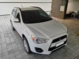 Mitsubishi ASX 14/15 4x2 Aut branco IPVA 2020 quitado! Impecável! O mais novo de Alagoas! - 2015