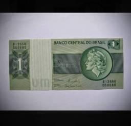 Cédula de 1 Cruzeiro Nunca Circulada - FE