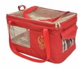 Bolsa chic para transporte de pets
