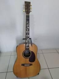 Violão folk Art Guitars elétrico