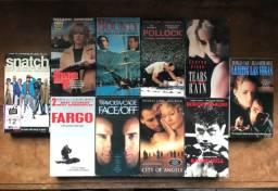 Fitas VHS - Filmes Drama + Policial em VHS