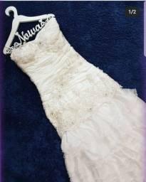 Lote com 10 vestidos de noiva usados