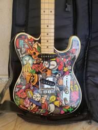 Guitarra Telecaster Tagima versão especial Marcinho Eiras