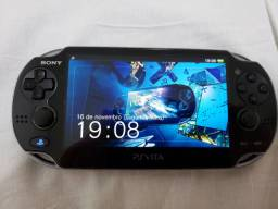 PS Vita com Bag original e jogos