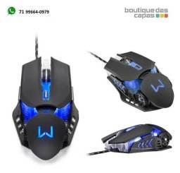 Título do anúncio: Mouse Gamer mecanico Warrior Keon 3200DPI 6 Botões - MO267