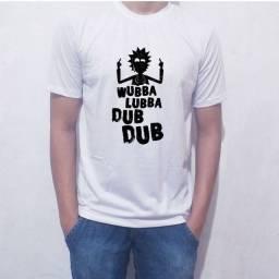 Camiseta Rick branca brinde