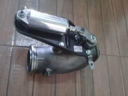 Curva freio motor com pistao