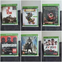 Jogos XBOX ONE e PS4