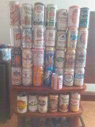 Latinhas de cerveja para colecionador