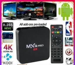 Tv box mxq 4g.ram-64 memoria android.10