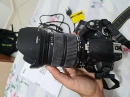 Nikon D3000 + Lente Sigma 18-200mm F/3.5-6.3 DC OS HSM+ SB-900 SPEEDLIGHT
