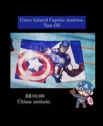 Título do anúncio: Cuecas infantil Heróis