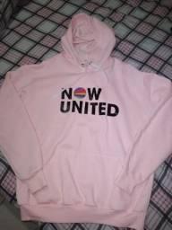 Moletom Now United - Semi Novo