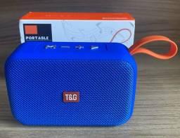 Título do anúncio: Caixa de Som T&G Nova Original portatil (aceito cartão)