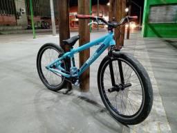 Bike perifa azul bebê portal wheeling