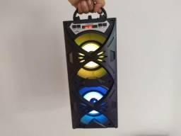 Caixa de som Bluetooth Portátil Grasep - Caiiixa de somm