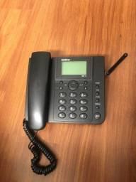 Telefone rural q serve pra colocar chip fixo e móvel