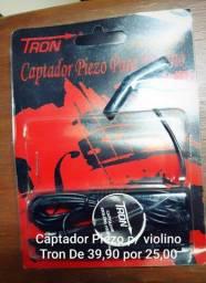 Captador Piezo p/ Violino Tron