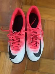 Chuteira Mercurial Nike Futsal N 37