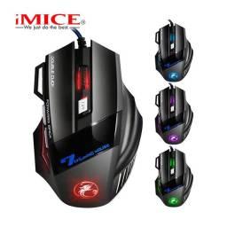 Mouse gamer IMICE X7 com LED forward Back (House eletronics)