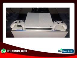 Vendo Microsoft Xbox One S 1TB Standard Branco 2 Controle Game Pass Ultimate 8 Meses