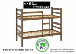 Beliche de madeira maciça-na promoção veja