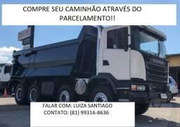 Caminhão Caçamba através do Parcelamento!!