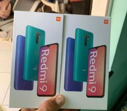 Xiaomi Redmi 9 64GB 4gb ram lacrados novos cinza e roxo