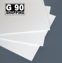 Acrilico Branco Leitoso - 2mm de espessura