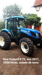 New Holland TL 75 ano 2017