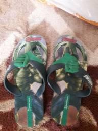 Chinelo hulk