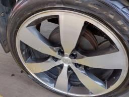 Título do anúncio: Rodas de Hilux aro 22 com pneu em bom estado